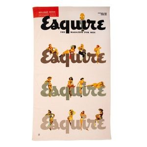 Esquire Vintage Retro Pin Up Girls Beach Towel